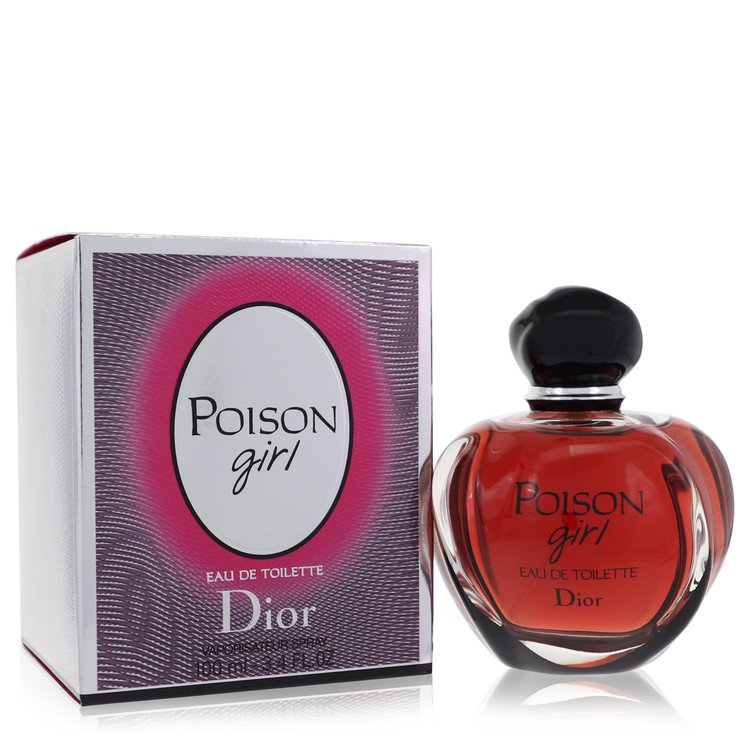 Poison Girl by Christian Dior for Women Eau De Toilette Spray 3.4 oz