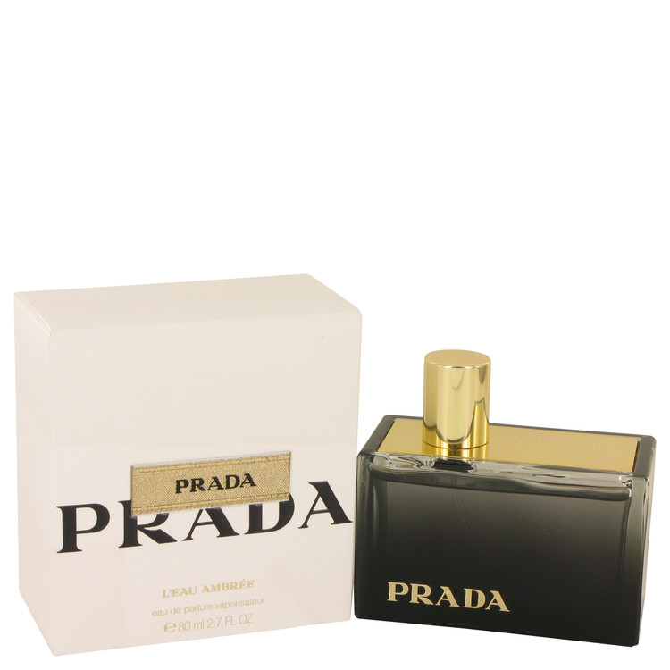 Prada L'eau Ambree by Prada for Women Eau De Parfum Spray 2.7 oz