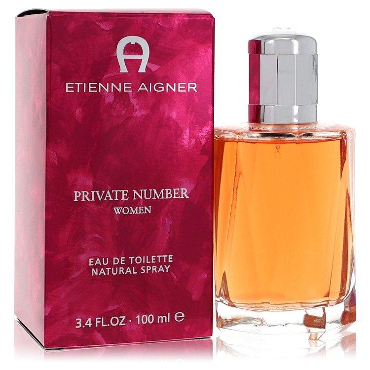 Private Number by Etienne Aigner for Women Eau De Toilette Spray 3.4 oz