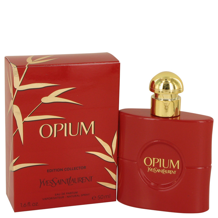 OPIUM by Yves Saint Laurent for Women Eau De Parfum Spray (Collectors Edition) 1.6 oz