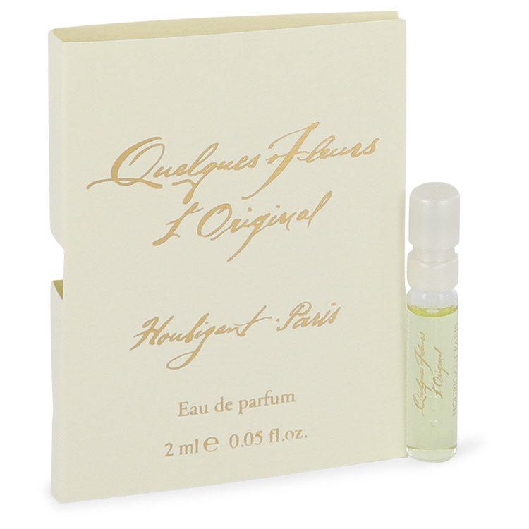 QUELQUES FLEURS by Houbigant for Women Vial (sample) .06 oz