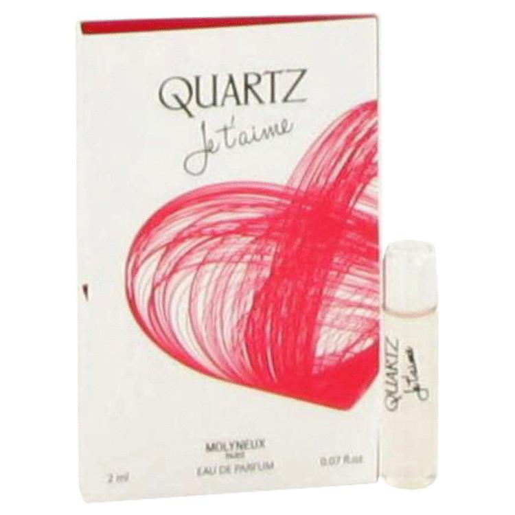 Quartz Je T'aime by Molyneux for Women Vial (sample) .07 oz
