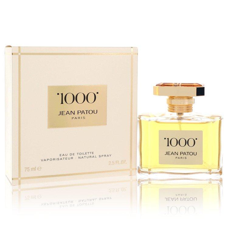 1000 by Jean Patou for Women Eau De Toilette Spray 2.5 oz