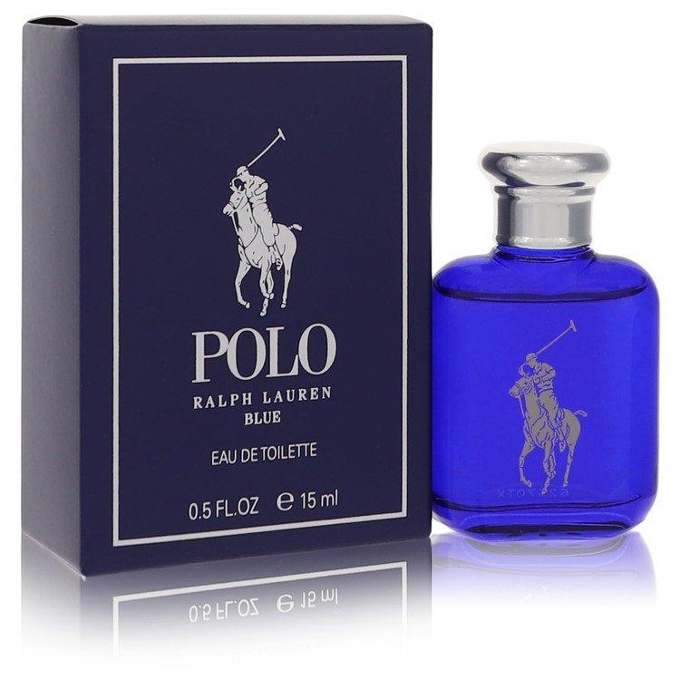 Polo Blue by Ralph Lauren for Men Eau De Toilette .5 oz