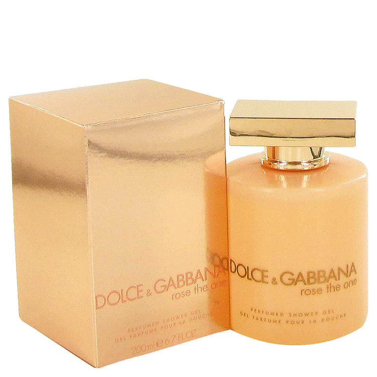 Rose The One by Dolce & Gabbana for Women Shower Gel 6.8 oz