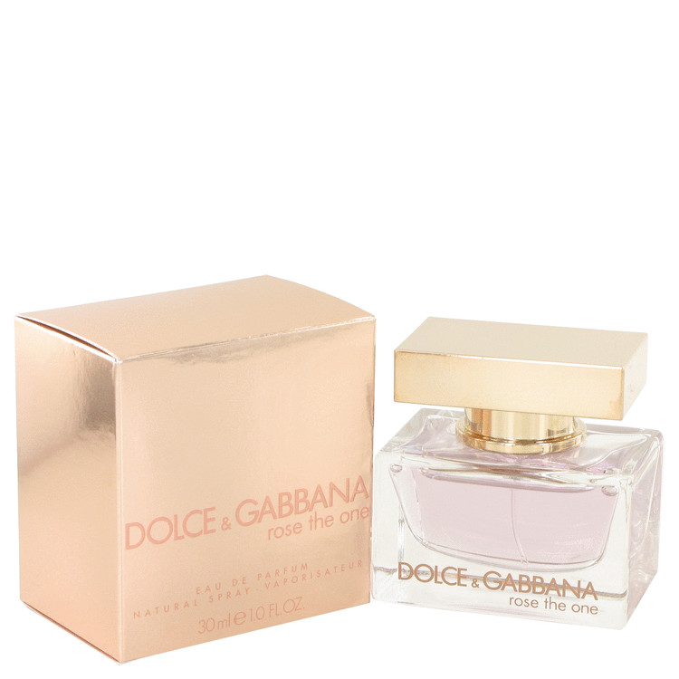 Rose The One by Dolce & Gabbana for Women Eau De Parfum Spray 1 oz
