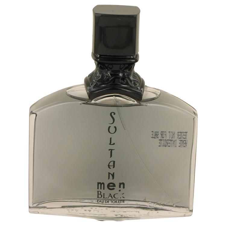 Sultan Black by Jeanne Arthes for Men Eau De Toilette Spray (Tester) 3.3 oz