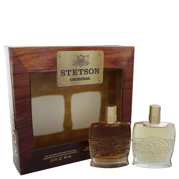 STETSON by Coty for Men Gift Set -- 2 oz Collector's Edition Cologne + 2 oz Collector's Edition After Shave