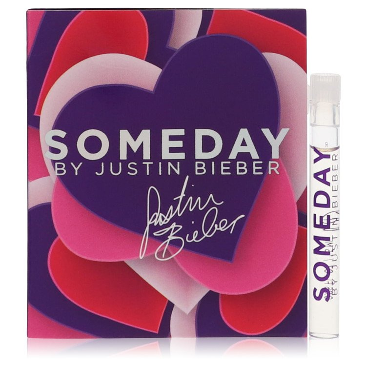 Someday by Justin Bieber for Women Vial (sample) .05 oz