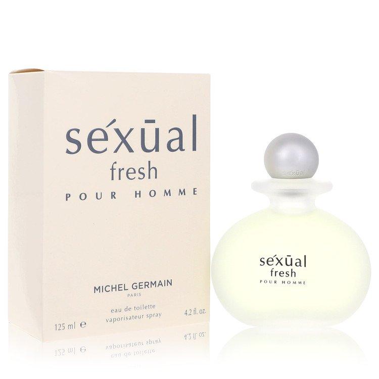 Sexual Fresh by Michel Germain for Men Eau De Toilette Spray 4.2 oz