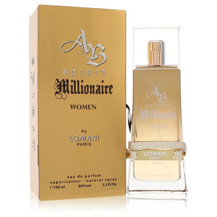 Spirit Millionaire by Lomani for Women Eau De Parfum Spray 3.3 oz