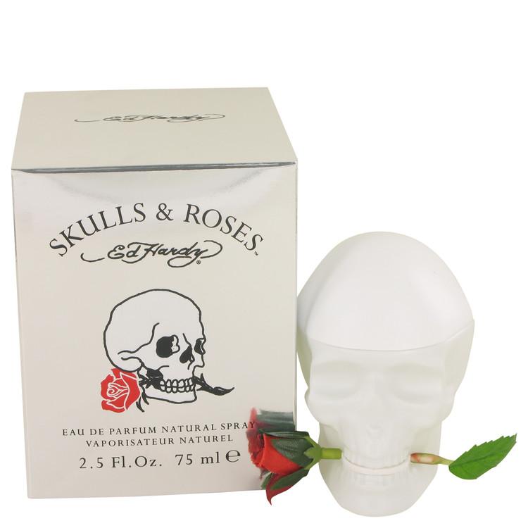 Skulls & Roses by Christian Audigier for Women Eua De Parfum Spray 2.5 oz
