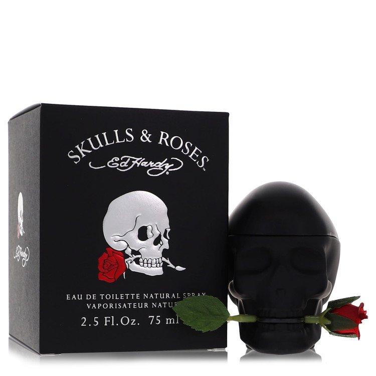 Skulls & Roses by Christian Audigier for Men Eau De Toilette Spray 2.5 oz