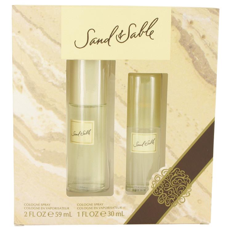 SAND & SABLE by Coty for Women Gift Set -- 2 oz Cologne Spray + 1 oz Cologne Spray