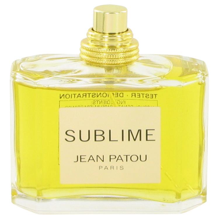 SUBLIME by Jean Patou for Women Eau De Parfum Spray (Tester) 2.5 oz