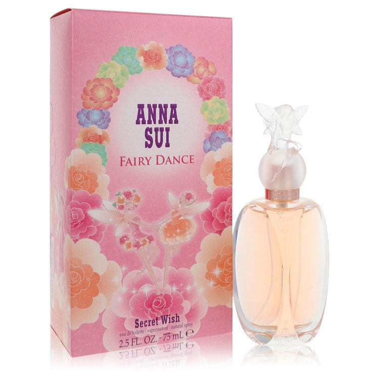 Secret Wish Fairy Dance by Anna Sui for Women Eau De Toilette Spray 2.5 oz