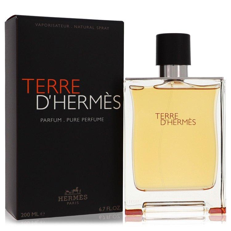 Terre D'Hermes by Hermes for Men Pure Perfume Spray 6.7 oz
