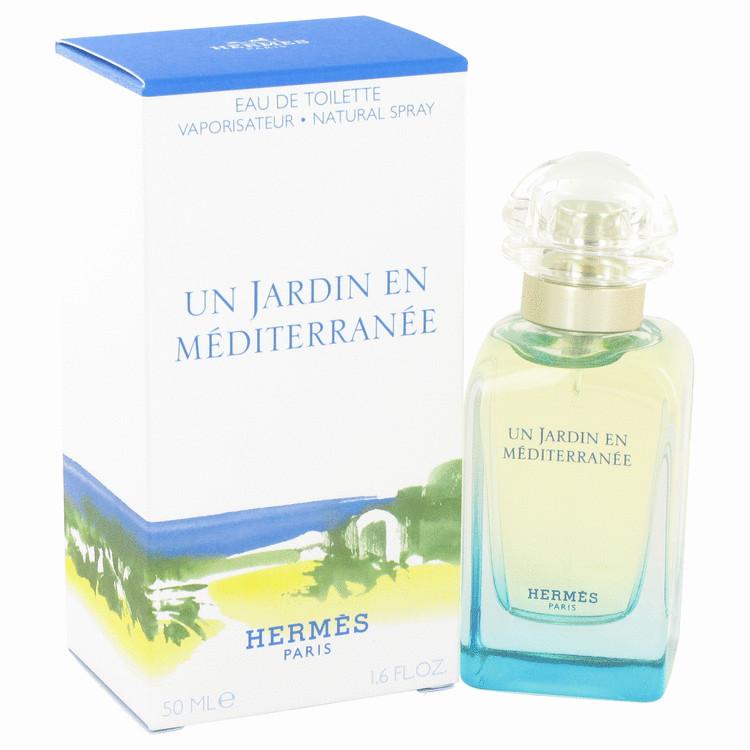Un Jardin En Mediterranee by Hermes for Women Eau De Toilette Spray 1.7 oz