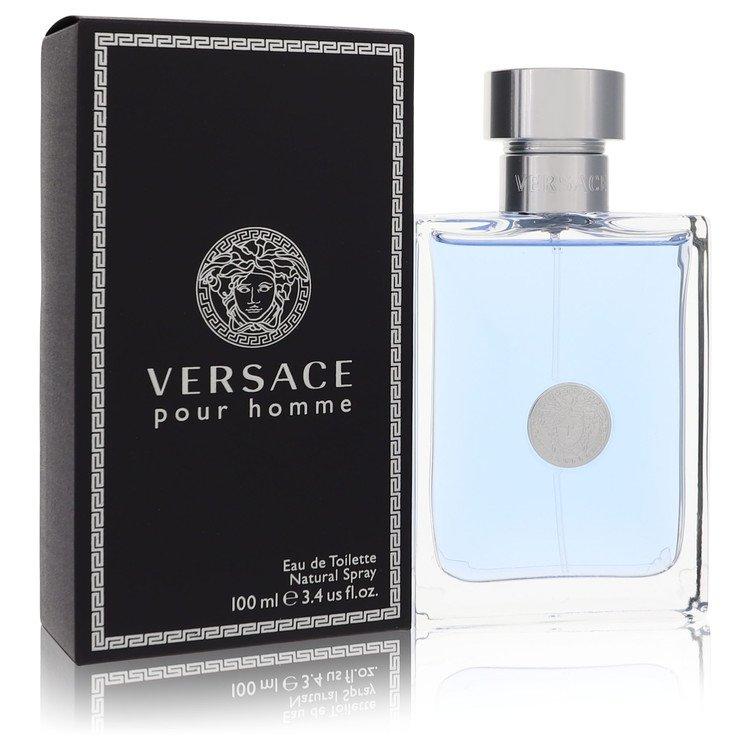 Versace Pour Homme by Versace for Men Eau De Toilette Spray 3.4 oz