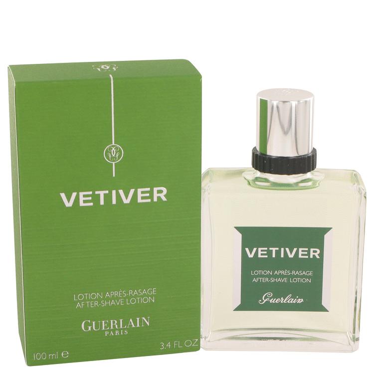 VETIVER GUERLAIN by Guerlain for Men After Shave Lotion 3.4 oz