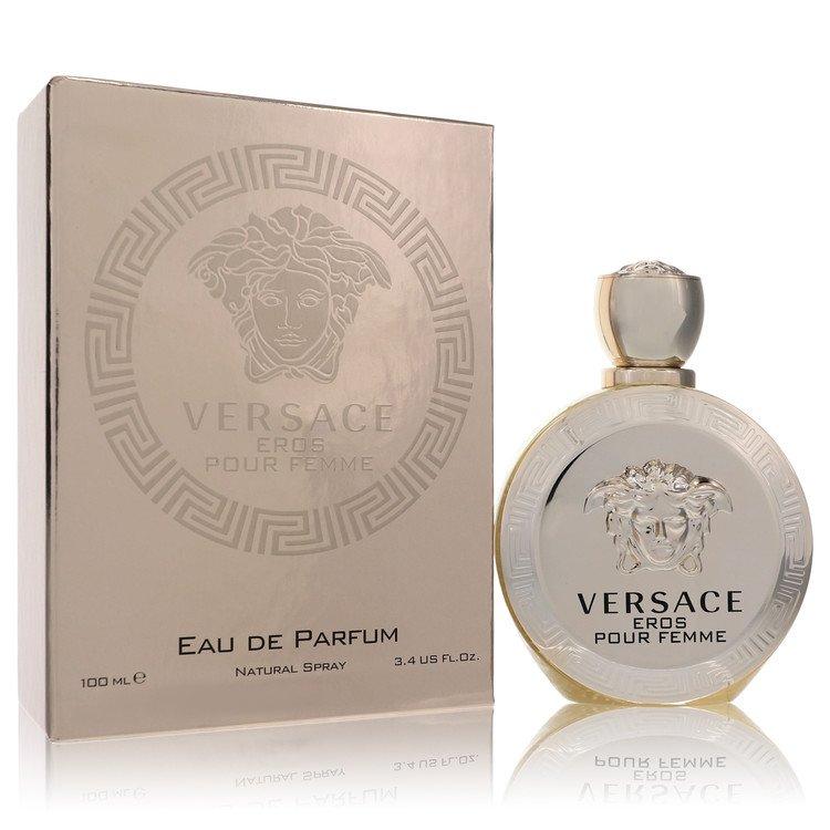 Versace Eros by Versace for Women Eau De Parfum Spray 3.4 oz
