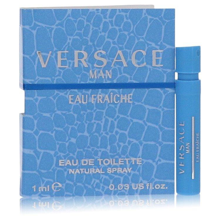 Versace Man by Versace for Men Vial (sample) Eau Fraiche .03 oz