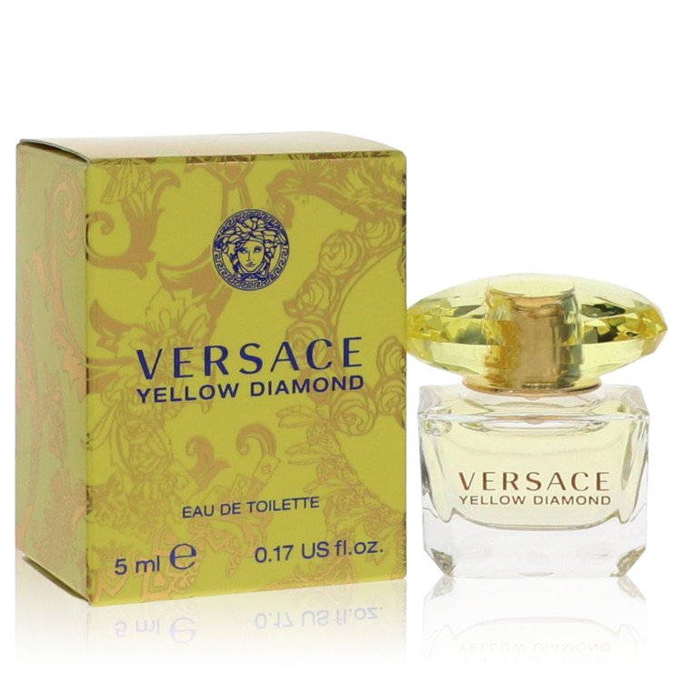 Versace Yellow Diamond by Versace for Women Mini EDT .17 oz