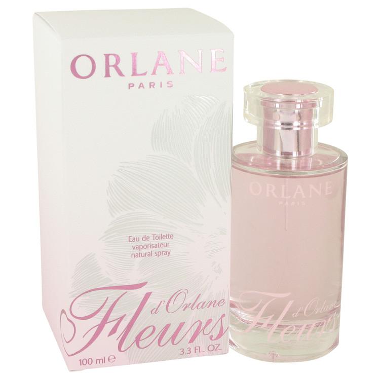 FLEURS D'ORLANE by Orlane for Women Eau De Toilette Spray (New Packaging) 3.3 oz