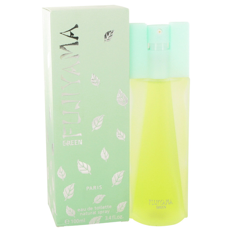 FUJIYAMA GREEN by Succes de Paris for Women Eau De Toilette Spray 3.4 oz