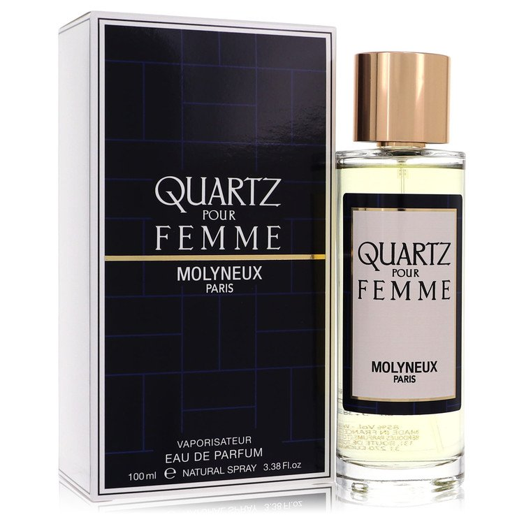 QUARTZ by Molyneux for Women Eau De Parfum Spray 3.4 oz