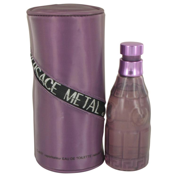 METAL JEANS by Versace for Women Eau De Toilette Spray 2.5 oz