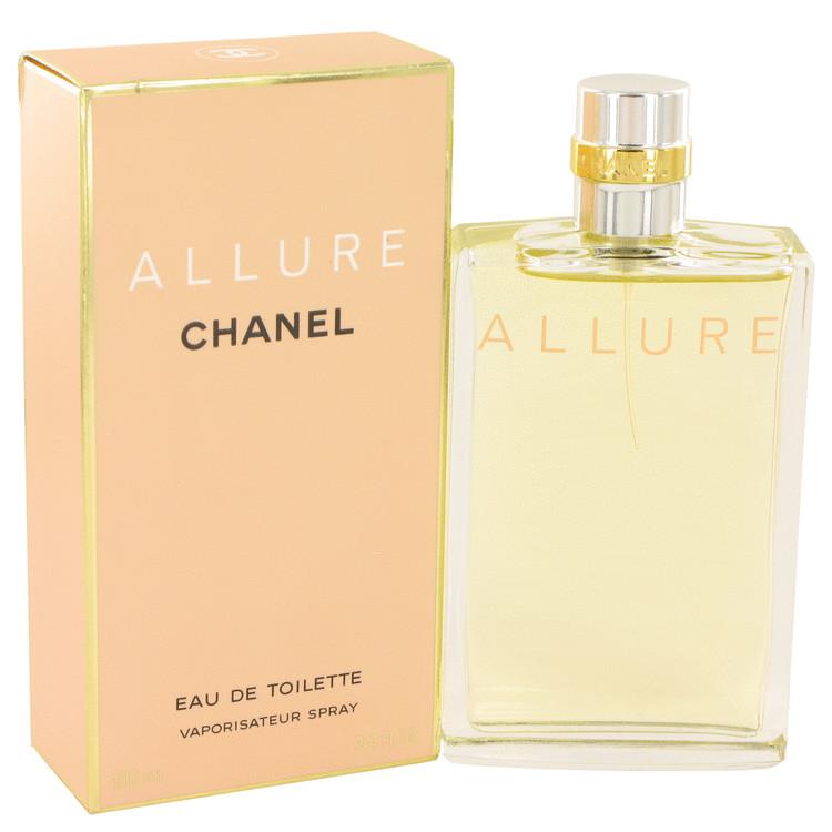 ALLURE by Chanel for Women Eau De Toilette Spray 3.4 oz