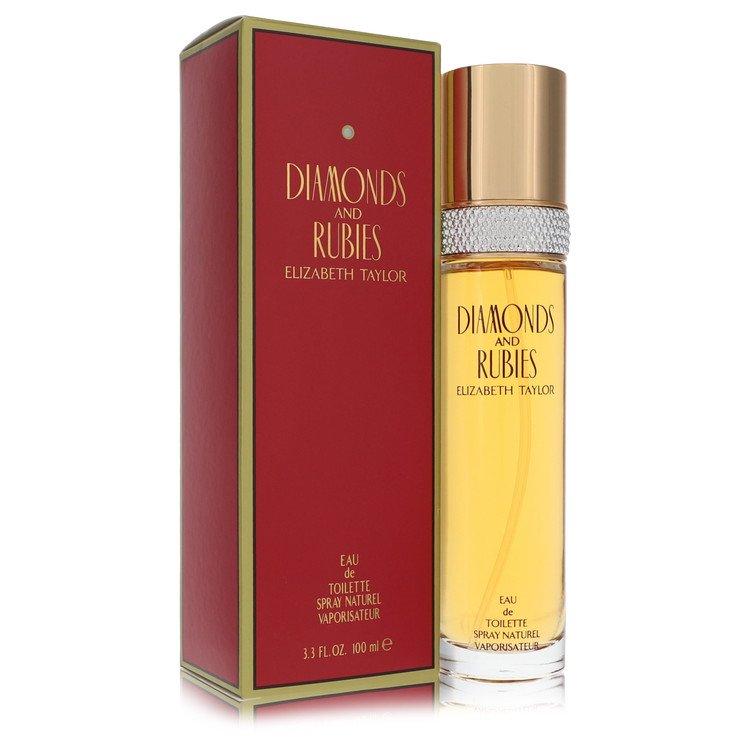 DIAMONDS & RUBIES by Elizabeth Taylor for Women Eau De Toilette Spray 3.4 oz