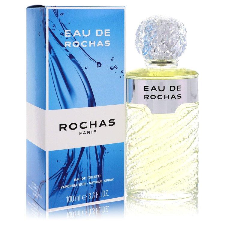 EAU DE ROCHAS by Rochas for Women Eau De Toilette Spray 3.4 oz