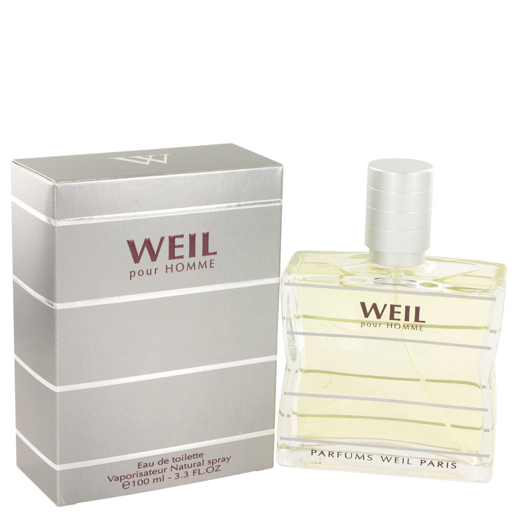 Weil Pour Homme by Weil for Men Eau De Toilette Spray 3.4 oz