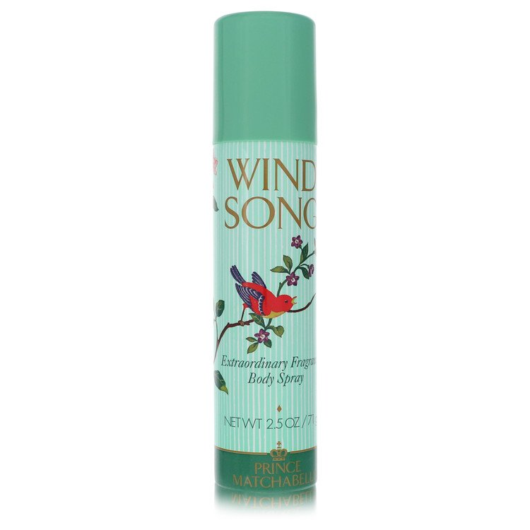 WIND SONG by Prince Matchabelli for Women Deodorant Spray 2.5 oz