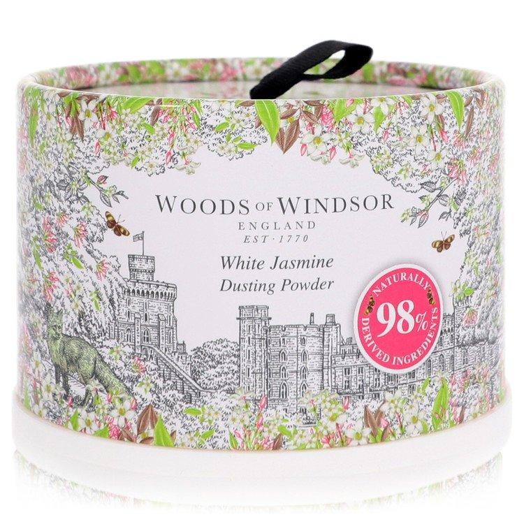 White Jasmine by Woods of Windsor for Women Dusting Powder 3.5 oz