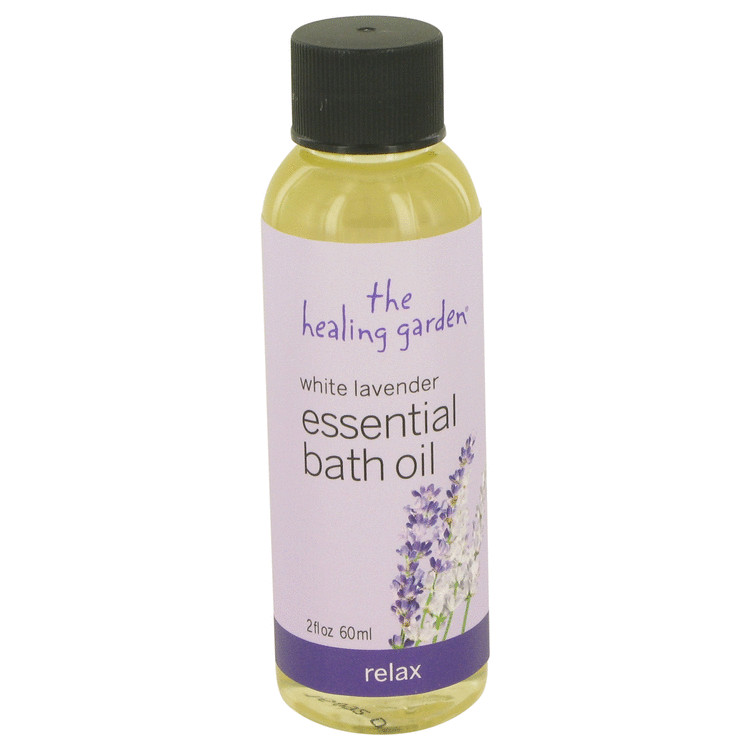 White Lavender The Healing Garden by The Healing Garden
