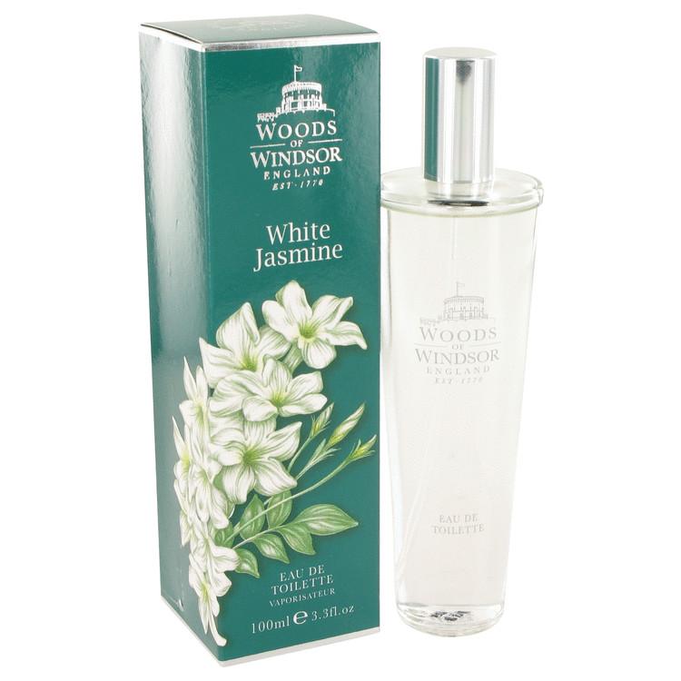 White Jasmine by Woods of Windsor for Women Eau De Toilette Spray 3.3 oz