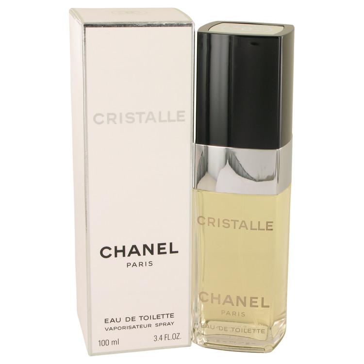 CRISTALLE by Chanel for Women Eau De Toilette Spray 3.4 oz