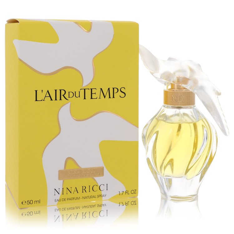 L'AIR DU TEMPS by Nina Ricci for Women Eau De Parfum Spray with Bird Cap 1.7 oz