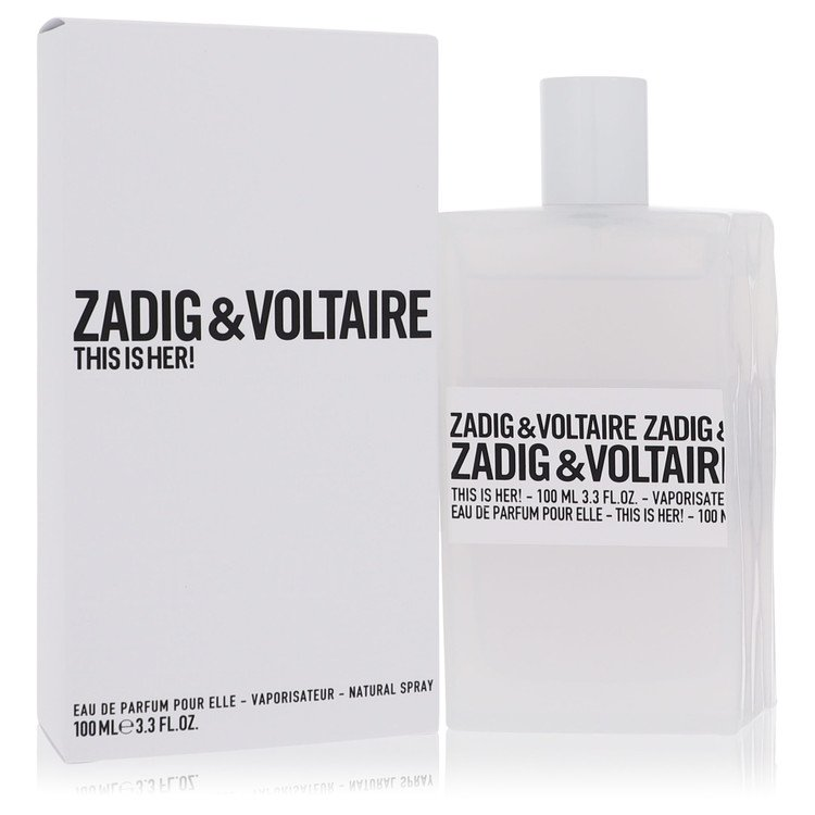 This is Her by Zadig & Voltaire for Women Eau De Parfum Spray 3.4 oz