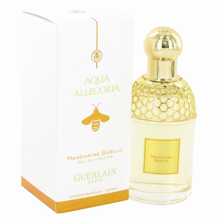 AQUA ALLEGORIA Mandarine Basilic by Guerlain for Women Eau De Toilette Spray 2.5 oz