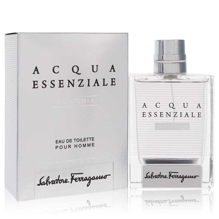 Acqua Essenziale Colonia by Salvatore Ferragamo for Men Eau De Toilette Spray 3.4 oz