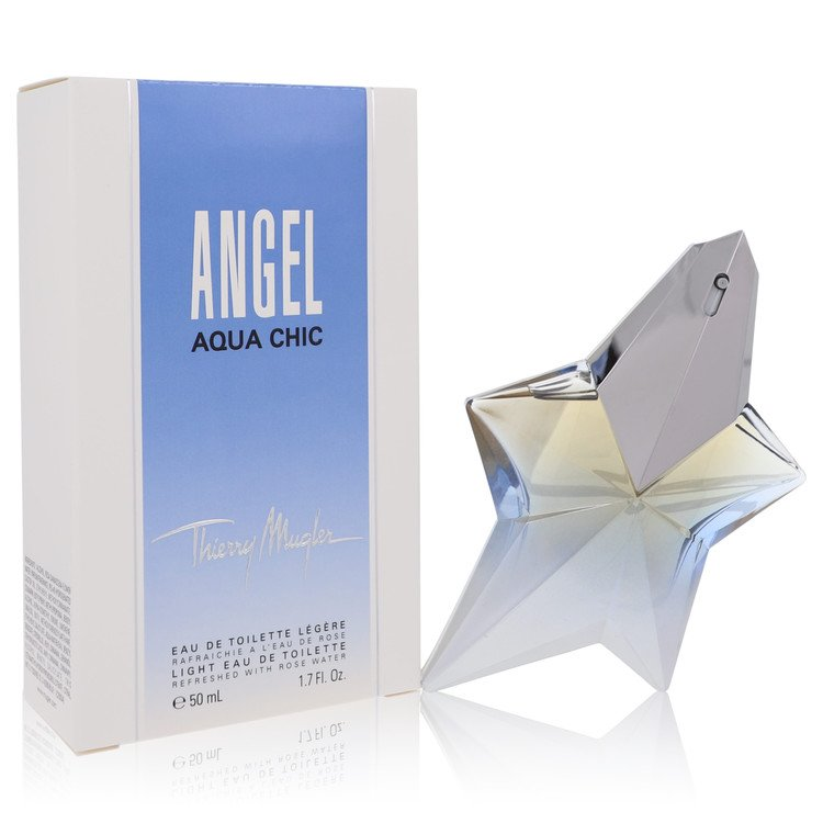 Angel Aqua Chic by Thierry Mugler for Women Light Eau De Toilette Spray 1.7 oz