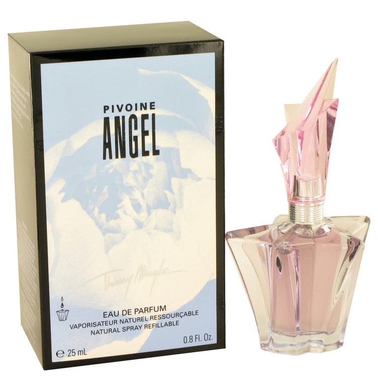 Angel Peony by Thierry Mugler for Women Eau De Parfum Spray Refillable .8 oz