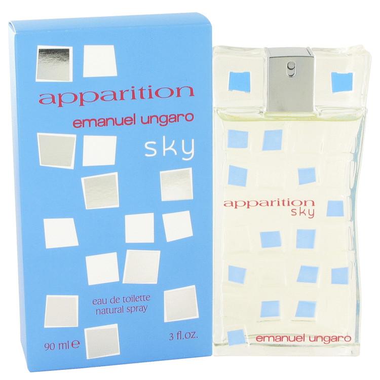 Apparition Sky by Ungaro for Women Eau De Toilette Spray 3 oz