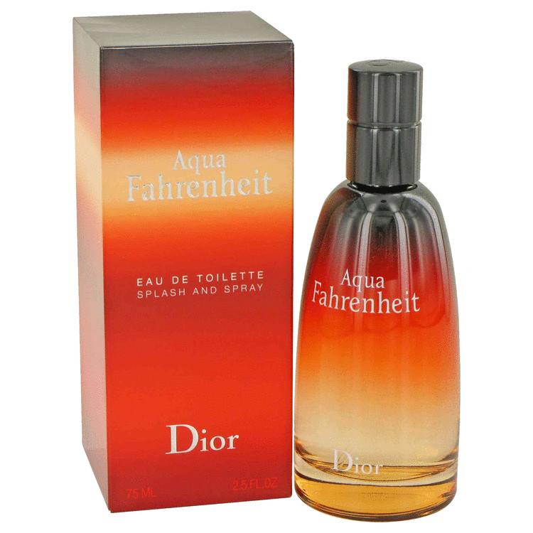 Aqua Fahrenheit by Christian Dior for Men Eau De Toilette Spray 2.5 oz