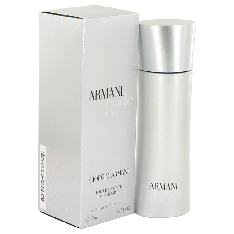 Armani Code Ice by Giorgio Armani for Men Eau De Toilette Spray 2.5 oz