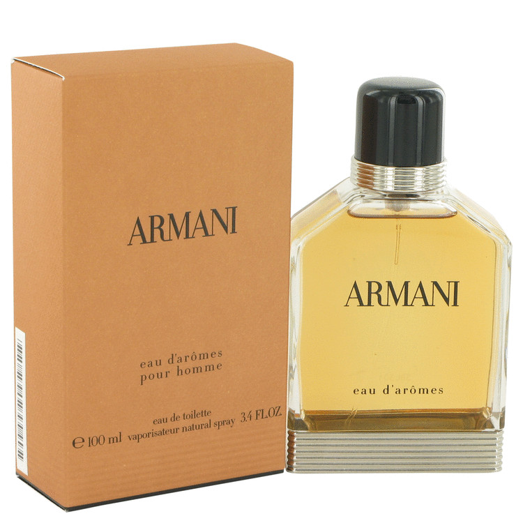 Armani Eau D'aromes by Giorgio Armani for Men Eau De Toilette Spray 3.4 oz